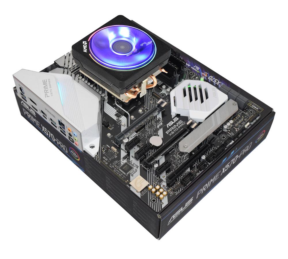 Processeur AMD Ryzen 7 3800X + Carte mère Asus Prime X570 Pro