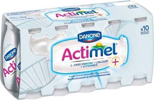 Pack de 10 Actimel de Danone - 10x100g (via BDR de 0.40€)