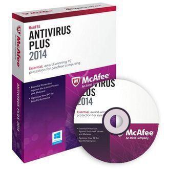 Logiciel McAfee Antivirus Plus 2014