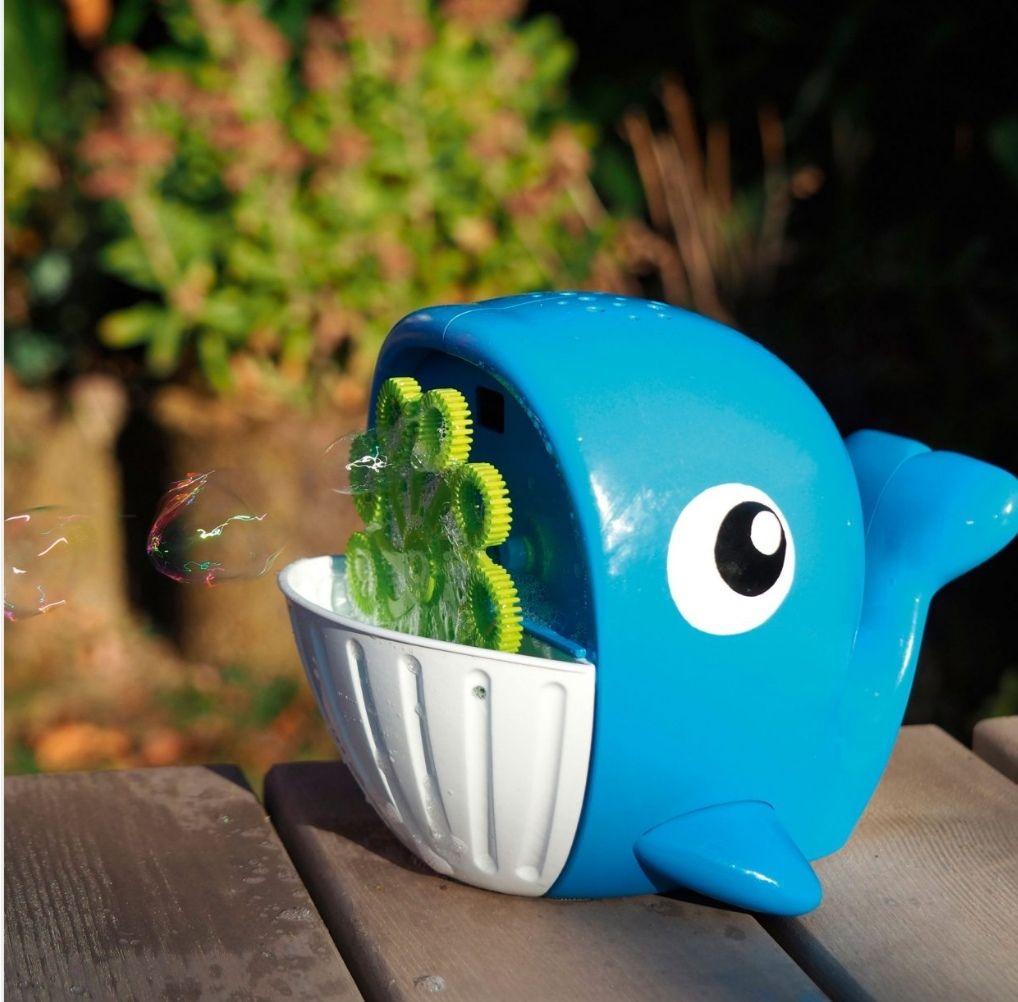 Machine à bulles baleine