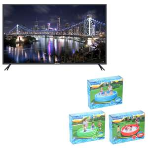 "Sélection de TV Brandt + Piscine Bestway offerte (183 x 33 cm) - Ex : 43"" B4306UHD - LED, 4K UHD"