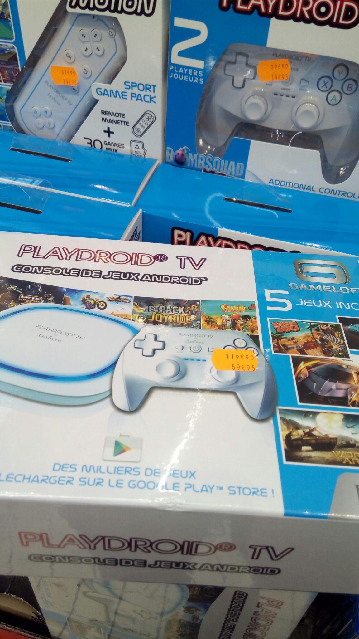 Console Lexibook PlayDroid TV