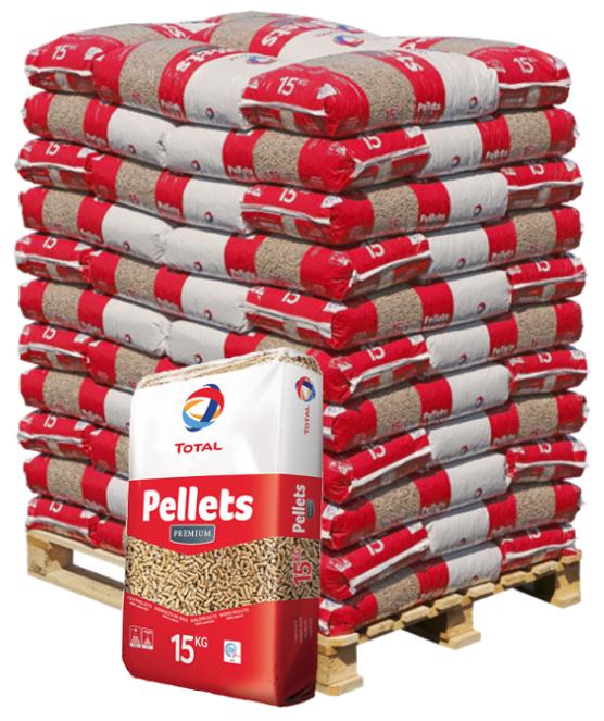 1 Palette de Pellets Premium Total