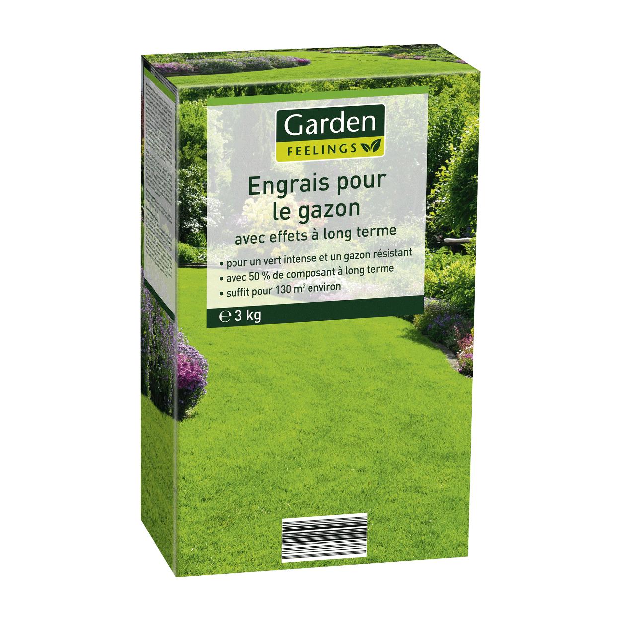 Engrais pour gazon Garden Feelings - 3kg