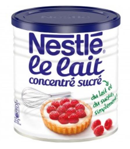 Boite de 1 kg de lait concentré sucré Nestlé