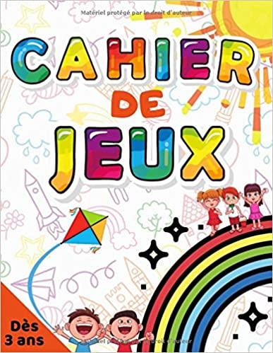 Carnet d'Activités Amandine Pennac pour Enfants à partir de 3 Ans