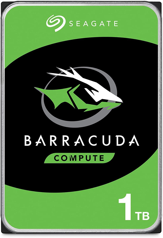 "Disque dur interne 3.5"" Seagate BarraCuda - 1 To"