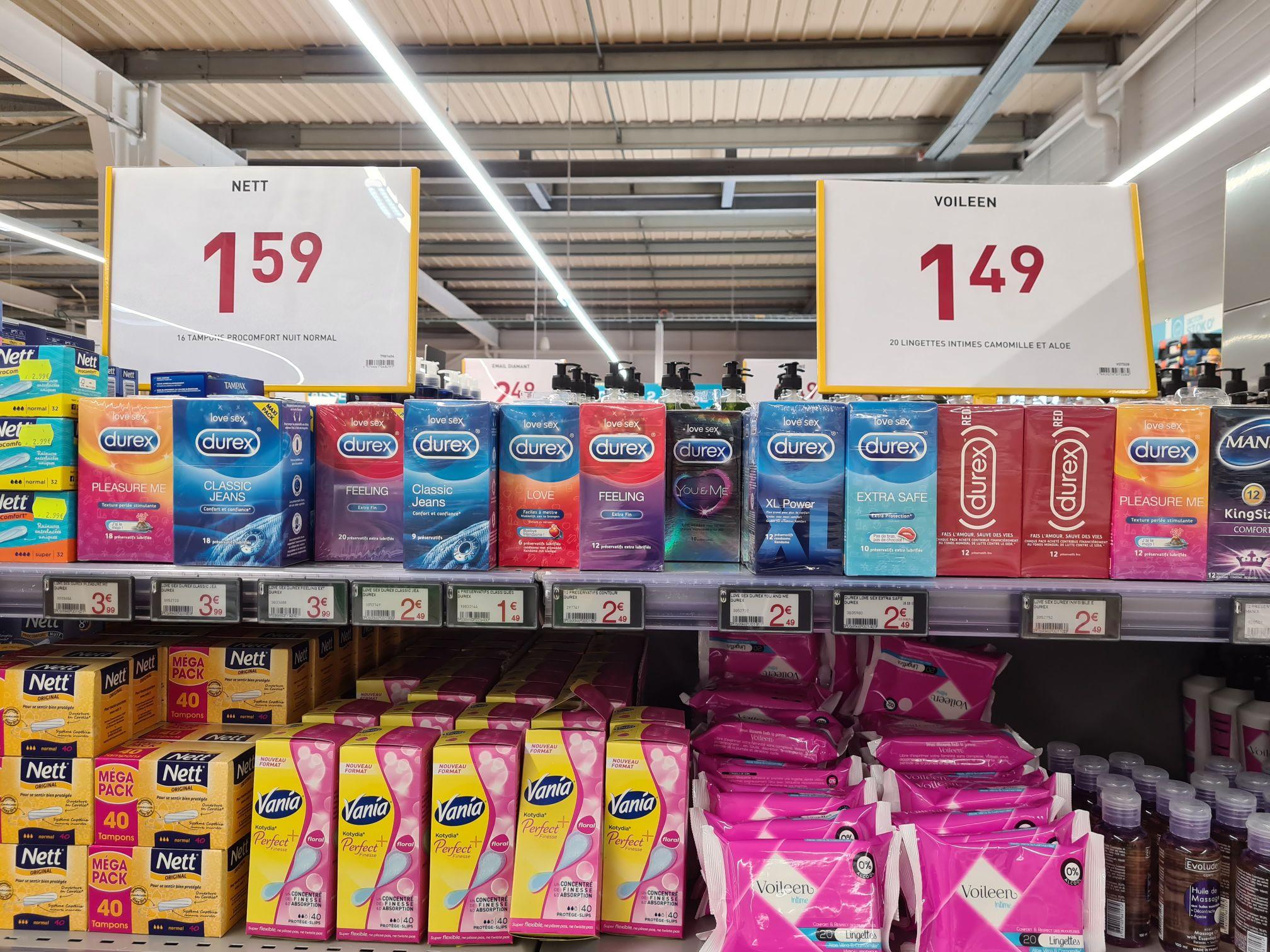 Sélection de préservatifs Durex en promotion - Ex: Boite de 12 Préservatifs You & Me - Seclin (59)