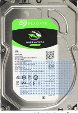 "Disque dur interne 3.5"" Seagate Barracuda - 2 To"