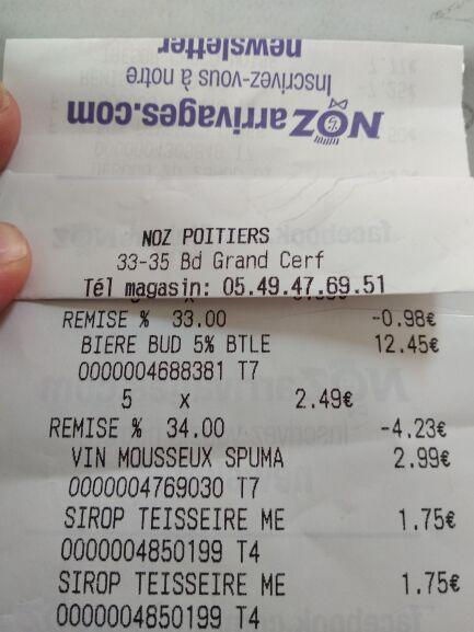 Pack 6 de bières Bud - DLUO courte (Via BDR de 1.50€) - Poitiers (86)