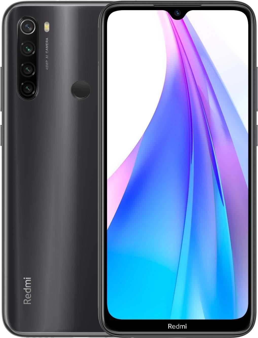 Smartphone Xiaomi Redmi Note 8 T (128 Go) + Forfait Free Mobile pendant 24 mois (Appels, SMS, MMS Illimités + 100 Go de DATA)