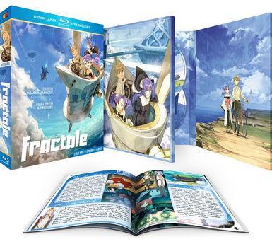 Coffret Blu-ray : Fractale l'Intégrale + Livret - Edition Saphir