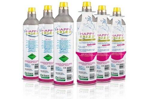 Recharge gaz universel Happy Frizz (Co2) - 425 g