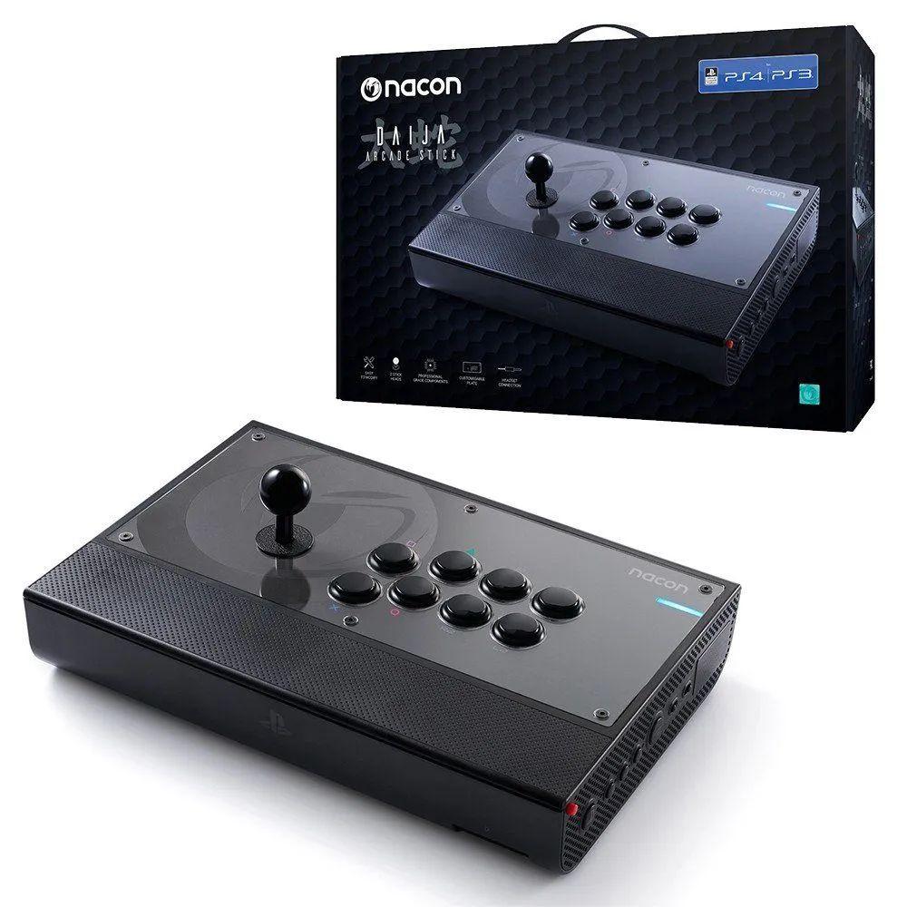 Arcade Stick Nacon Daija pour PS3 et PS4 (111.58€ avec le code RAKUTEN7 +5.93€ en SuperPoints)