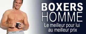 -40% supplémentaires sur tous les boxers homme jusqu'à ce soir minuit
