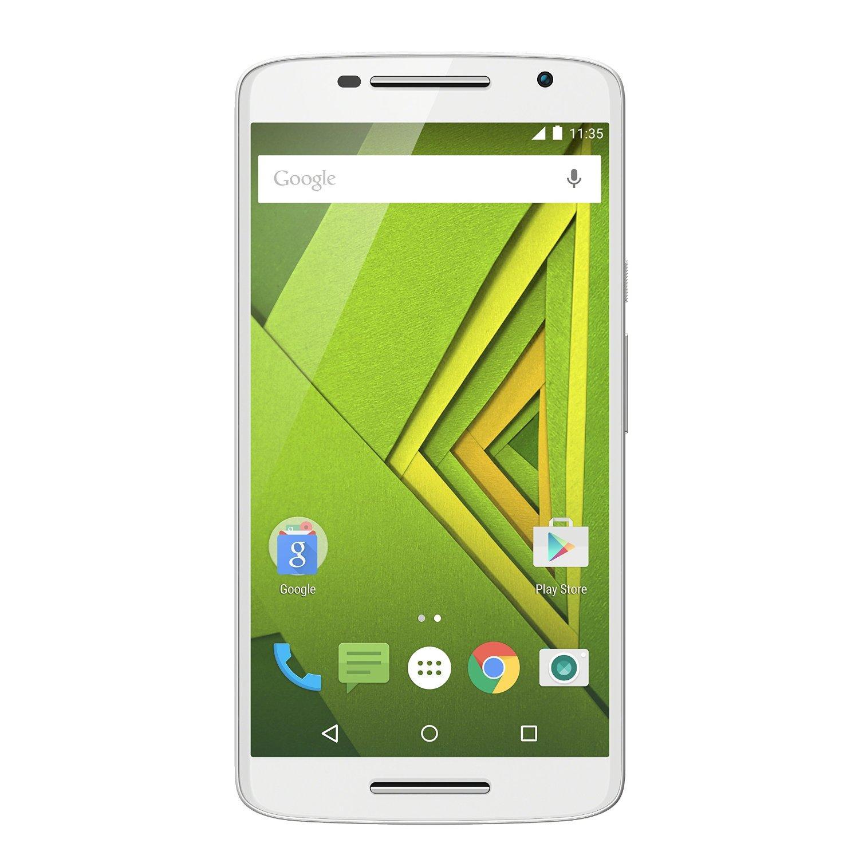 "Smartphone 5.5"" Motorola X Play Dual-SIM Blanc 4G (50€ ODR)"
