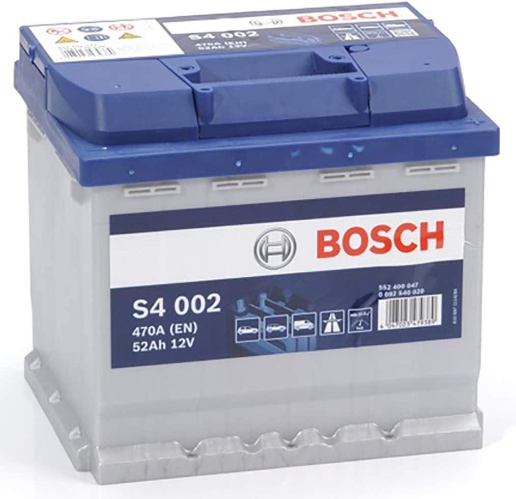 Batterie de voiture Bosch S4002 - 12V, 52Ah 470A