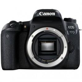 Appareil photo Canon EOS 77D - Boîtier Nu
