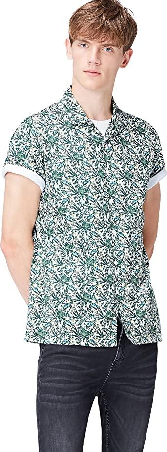 Chemisette droite à imprimé floral Homme - Taille XL