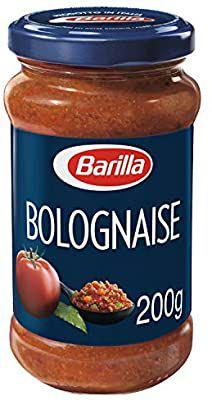 Lot de 3 pots de Sauce Bolognaise Barilla - 200 g