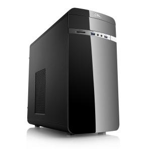 Tour PC Fixe - Ryzen 5 3400G 4 x 3.7GHz, Radeon Vega 11, RAM 8Go, SSD 240Go + Abonnement Xbox Game Pass 3 Mois