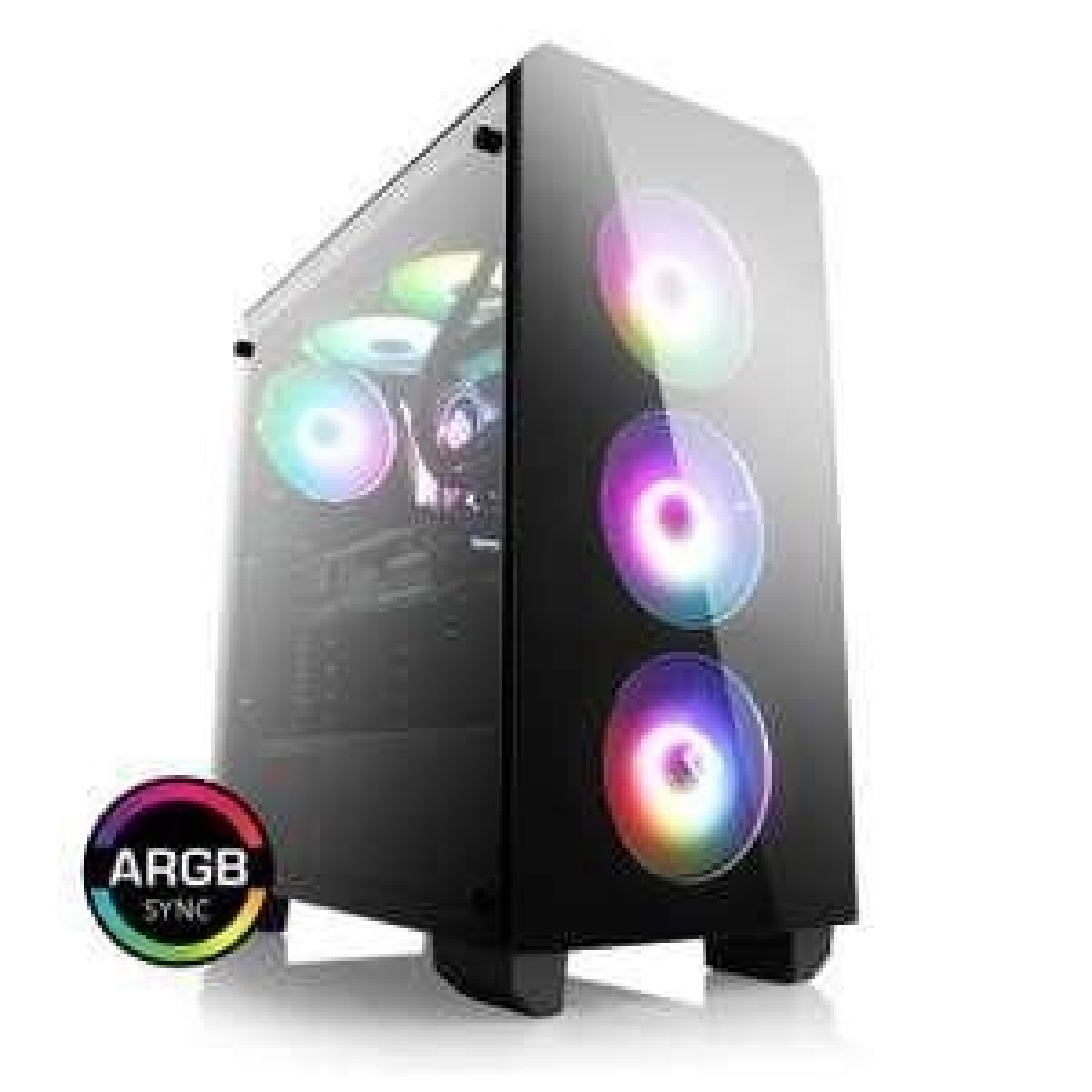 Tour PC Fixe Gamer - Ryzen 5 3600, RTX 2070 Super OC 8Go, RAM 16Go 3000Mhz, SSD 500Go, Alimentation Be Quiet! 600W
