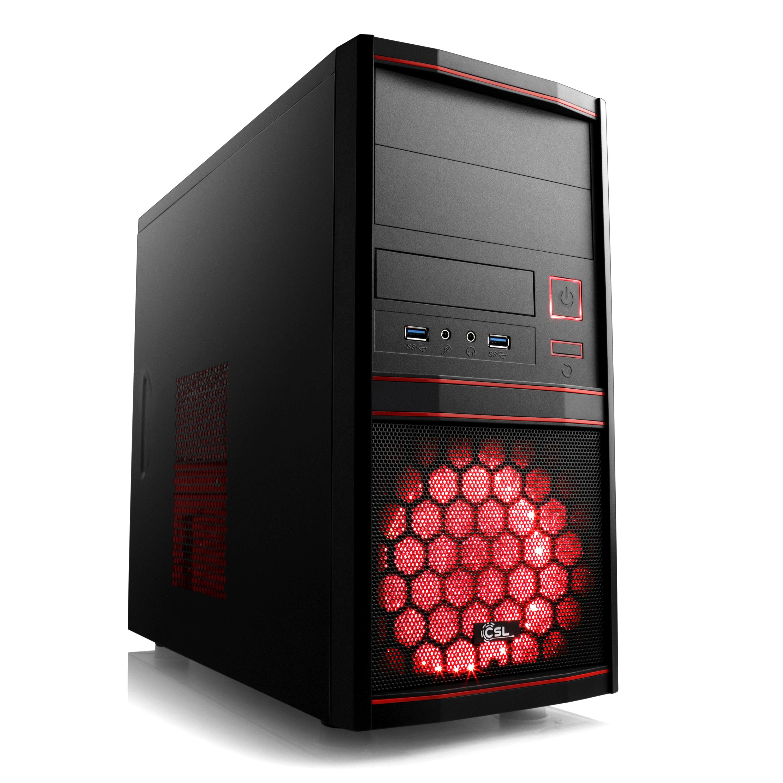 PC de bureau RED 908 - Ryzen 3 3200G (4x3.6GHz), Radeon Vega 8, RAM 8 Go, 240 Go SSD (219€ sans stockage)