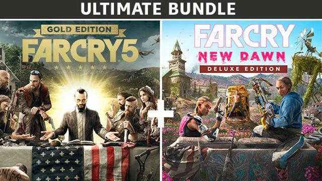 Bundle Far Cry 5 Gold Edition + Far Cry New Dawn Deluxe Edition + The Signal From Tölvasur PC (Dématérialisés - Uplay)