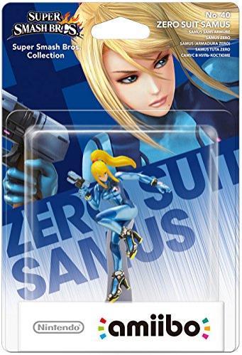 Nintendo Amiibo Super Smash Bros - Samus sans armure