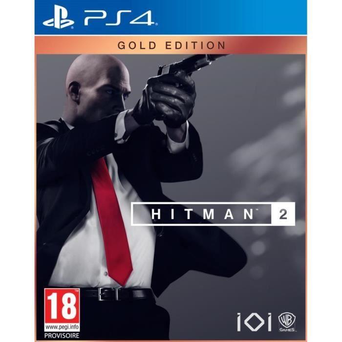 Hitman 2 Gold Edition sur PS4 (vendeur tiers)