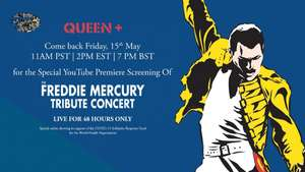 Concert hommage The Freddie Mercury visionnable gratuitement (via YouTube)