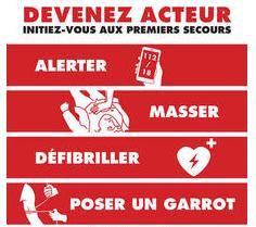 Formation aux gestes de premiers secours offerte à Paris en janvier et février et National jusqu'en avril