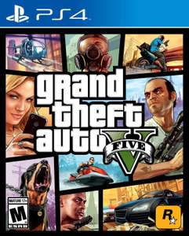 GTA 5 - Grand Theft Auto V sur PS4