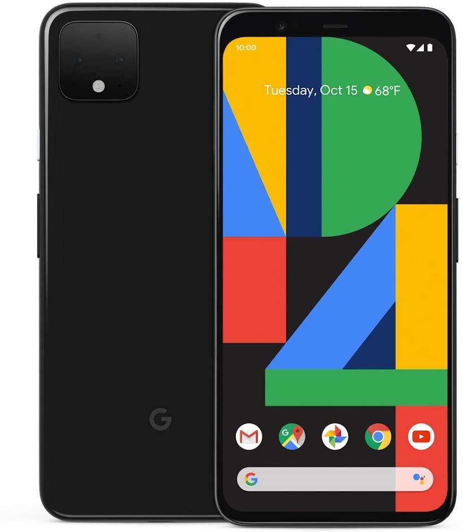 """Smartphone 5.7"""" Google Pixel 4 - 64 Go, Noir (Vendeur Tiers)"""