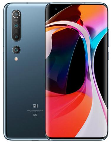 "Smartphone 6.67"" Xiaomi Mi 10 5G - 8 Go de Ram, 128 Go, Black Flash"