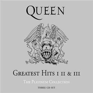 queen Greatest Hits I - II & III: The Platinum Collection (Box)