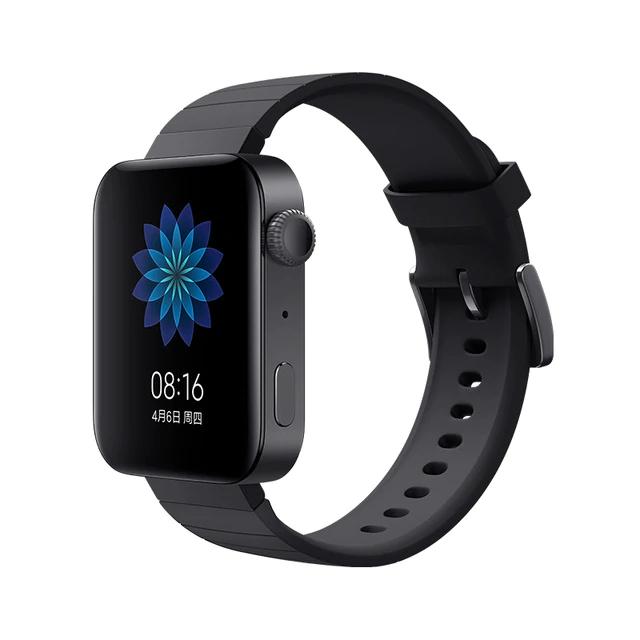 Montre connectée Xiaomi Mi Watch - Noir, NFC (Via Coupon Vendeur)