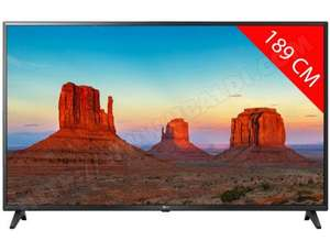 "TV LED 75"" LG 75UK6200 - 4K UHD, Smart TV, 100hZ"