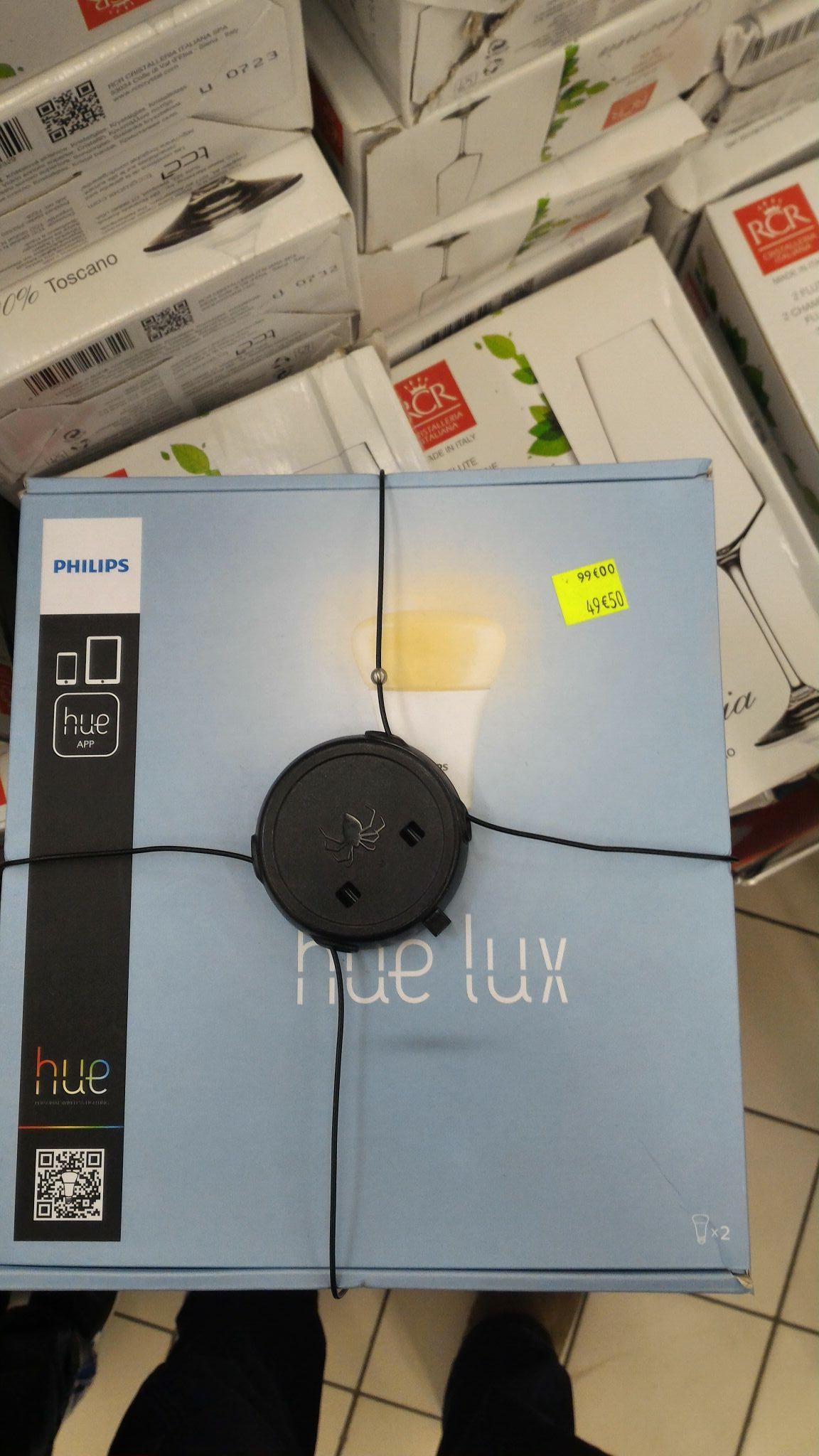 Lot de 2 Ampoules Philips Hue Lux+Pont