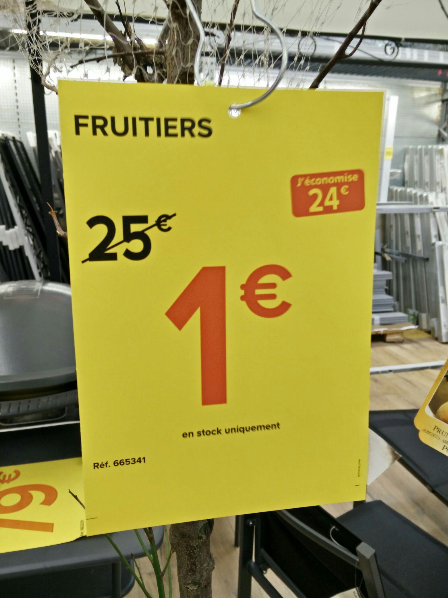 Divers arbres fruitiers
