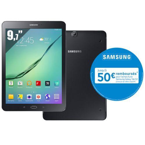 "Tablette 9.7"" Samsung Galaxy Tab S2 (via ODR de 50€)"