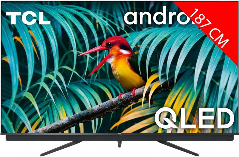 """TV 75"""" TCL 75c811 - 4K UHD, QLED, 100hz, Dalle VA 10bits"""