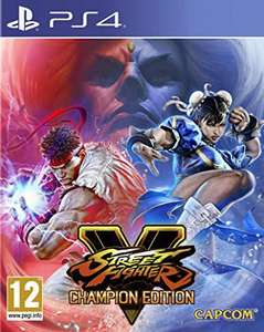 Street Fighter V Champion Edition sur PS4
