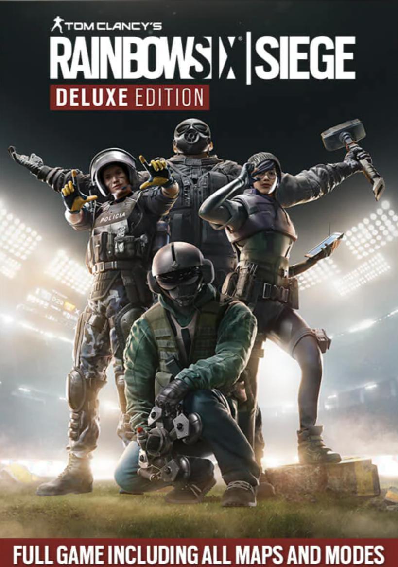 Jeu Rainbow six siège sur PC - Deluxe édition (Dématérialisé, Epic Store)