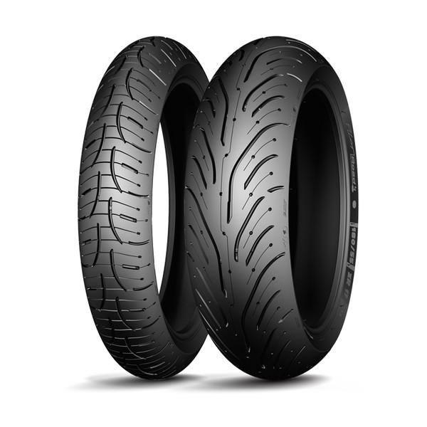 40€ remboursé sur 10 modèles de pneus moto Michelin - Ex: train Pilot Road 4 (via 40€ d'ODR)