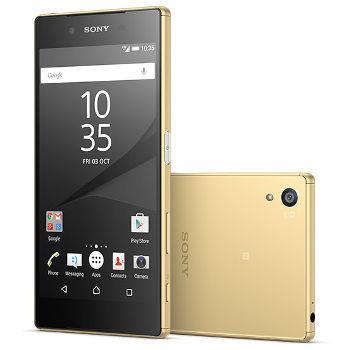 """Smartphone 5.2"""" Sony Xperia Z5 32 Go - Or, noir ou blanc (avec ODR 70€)"""