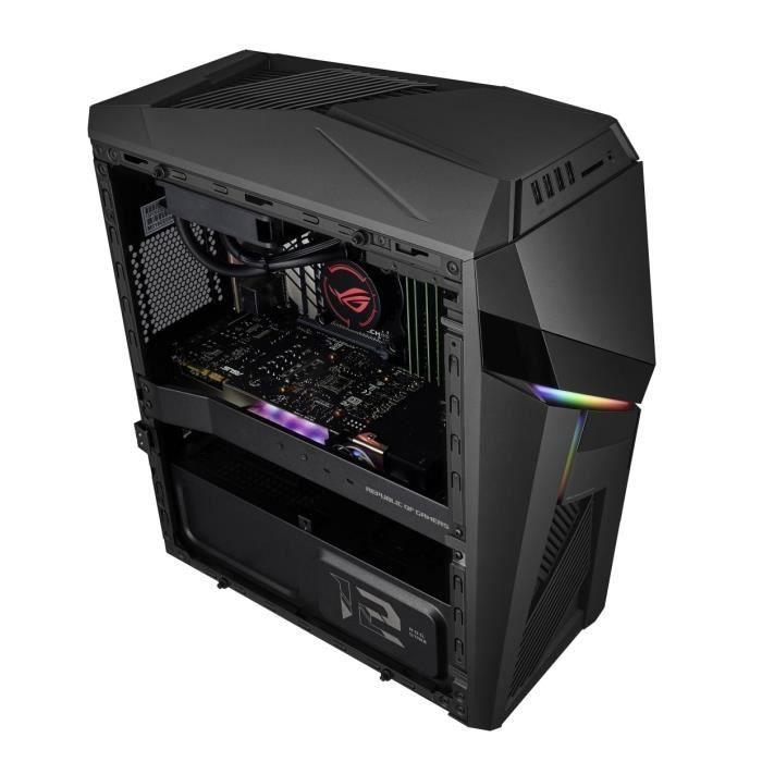 PC Gamer Asus Rog G12-FR013D - i7-8700, RAM 16 Go, 1 To HDD + 256 Go SSD, GTX 1070 (8 Go), FreeDos OS