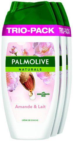 Pack de 3 Gel Douche Palmolive Naturals - 3x 250ml (Via 3.48€ sur la Carte)