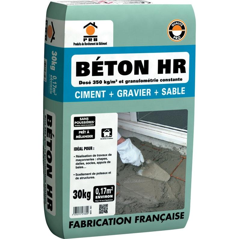 Béton HR prêt à l'emploi PRB - 30kg