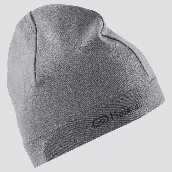Bonnet de running gris adulte Kalenji